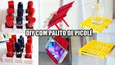 DIY 3 ideias úteis com palito de picolé