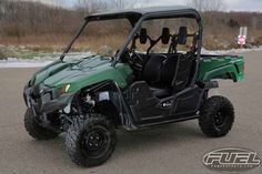 New 2016 Yamaha Viking ATVs For Sale in Wisconsin. 2016 Yamaha Viking, NEW LEFTOVER DEMO WITH LOW MILES AND YAMAHA WARRANTY! 2016 Yamaha Viking SMOOTH AND QUIET MEET HARD WORKING A quieter, smoother cabin combined with class-leading off-road capability. Translation: Chore-tackling comfort for three! Features may include: Torquey 700-Class Engine The Viking is ready to conquer whatever comes its way with a powerful 686cc, liquid-cooled, fuel injected, SOHC power plant. This engine produces…