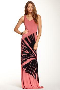 Tie-Dye Maxi Dress on HauteLook #fashion