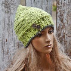 Womens Crochet Hat Women  Women hat Girls Hat Winter Hat Crochet Beanie Hat, Women's Fashion,Fall Fashion Crochet  Hat Beret
