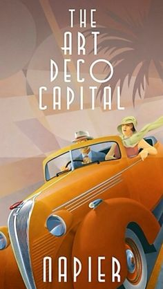 Art Deco Poster ~#Luxurydotcom