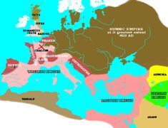 5th century weapons used by Huns | the Huns empire, at its greatest extent, during the fifth century ...