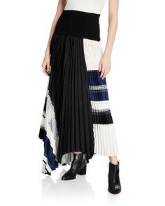 $278.0. 3.1 PHILLIP LIM Skirt Pleated Skirt With Knitted Waistband #31philliplim #skirt #pleatedskirt #clothing Flamenco Skirt, Ballet Skirt, Fitted Skirt, Pleated Skirt, A Line Skirts, Mini Skirts, Handkerchief Skirt, Bubble Skirt, Ralph Lauren Collection