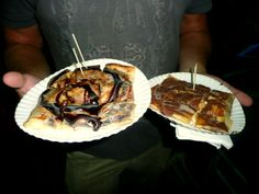 Thai Pancakes with Pineapple and Mango, Koh #Samui