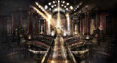 throne room fantasy dark amazing castle concept story