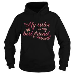 Sister Best Friend Watercolor Womens T Shirts Womens V Neck T Shirt