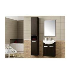 Ensemble de salle de bain neptune 50cm - Meuble Salle de bain une vasque - Décoration salle de bain