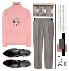 """""""*890*"""" by monazor ❤ liked on Polyvore featuring Shrimps, Uniqlo, Vince and Victoria Beckham"""