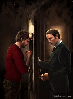 Memory Palace   Will and Hannibal by Alessia Pelonzi