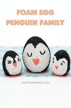 This penguin craft is probably one of the easiest one's I've done.  My boys really wanted to work on a penguin craft today (we were watching Happy Feet). Since I already had the foam eggs on hand I just needed to round up the kids and paints to get started. It was a perfect …