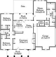 Simple Floor Plans simple floor plans Interior Plan Houses House Plans Home Plans Plans Residential Plans Inside Building Structures Pinterest House Plans Small Houses And New Homes