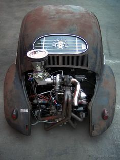 Kafer Rat Rod - Monster Engine! *___*