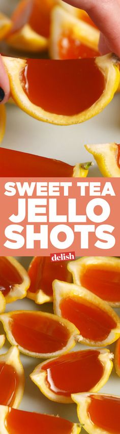 When Life Gives You Lemons, You Must Make These Sweet Tea Jell-O Shots   - Delish.com