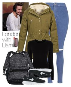"""London with Liam."" by welove1 ❤ liked on Polyvore featuring Payne, Topshop, Volcom, Oasis, Victoria's Secret, NIKE and Maybelline"