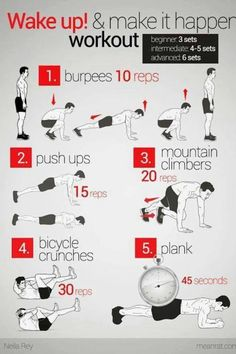 Need a quick workout for this morning? Here you go! #NoExcuses #RFG #Fitness