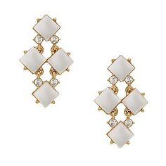 Kate Spade  pearl cove chandelier earrings