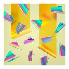 Machineast - Rainbow Paper Series 01 (21 AUD) ❤ liked on Polyvore