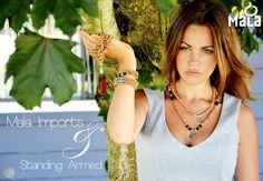 She wears it all - #Mala #Sylist #Fashionista #Layer #Nature #Meditation