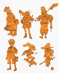characters+stickers http://akuryux.blogspot.com/ ★ || CHARACTER DESIGN REFERENCES | キャラクターデザイン • Find more artworks at https://www.facebook.com/CharacterDesignReferences http://www.pinterest.com/characterdesigh and learn how to draw: #concept #art #animation #anime #comics || ★