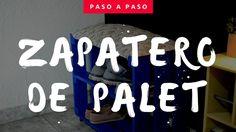 COMO HACER UN ZAPATERO DE PALET PASO A PASO - EMPODERADAS LATAM DIY