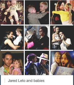 Jared Leto has a soft spot in his heart for children - and kids love him.
