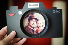 Camera Fathers Day card