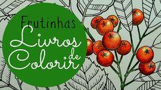 Como faço as frutinhas dos livros de colorir!