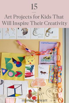 If you and your kids are stuck at home social distancing, try one of these kid-friendly craft ideas that will keep your young children busy while you are working from home. #marthastewart #parentingtips #kidfriendlyactivities #workfromhomewithkids #diycrafts