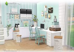 Sims 4 CC's - The Best: Home Office by SIMcredible!