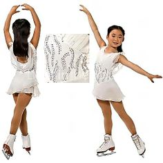ice skating outfits for girls | com figure skating dresses girls knee high leg warmers by kd dance age ...