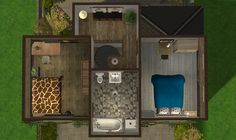 142 Baklava Boulevard.Last of Baklava Boulevard. Check out those sweet dinosaur pillows. Download (TS2): • Both an exterior only version (includes planting) and a fully furnished version can be found...
