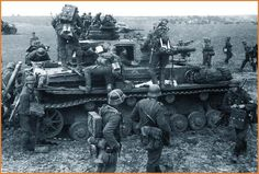 The Nazi German Army -- Wehrmacht -- was the strongest army in Europe