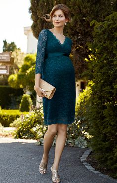 3eb7197024bf5 Chloe Maternity Lace Dress Dragonfly by Tiffany Rose Fall Maternity, Maternity  Gowns, Stylish Maternity