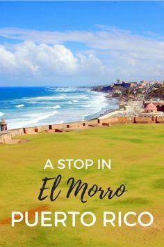 Guide to the Spanish-era fort of Castillo San Felipe del Morro also known as El Morro in San Juan, Puerto, Rico with kids.