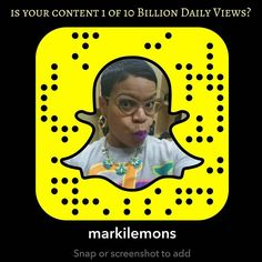 The majority of people using Snapchat application are making videos with 10 billion daily views up from 8 billion daily views. Snapchat has more than 100 million daily users who spend an average of 25 to 30 minutes on the app each day according to  Chief Executive Officer Evan Spiegel.  #SocialMedia #OnlineMarketing  #InternetMarketing #Business #MarketingDigital  #SocialMediaMarketing #Blogging #Branding #Marketing #ReMarkiTable #RealEstate #RealEstateAgent #RealEstateLife #REALTOR…