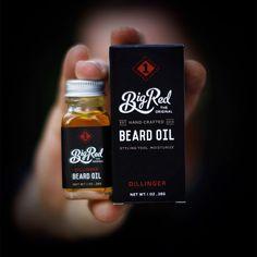Beard Oil | Big Red Beard Combs special blend beard oil.