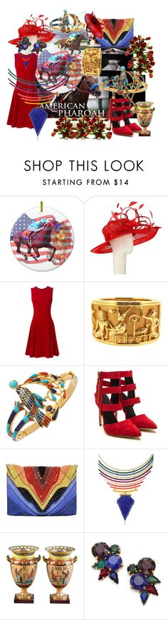 """""""Valley Of The Kings - 1 Year Ago A New Chapter In History Was Written"""" by sharee64 ❤ liked on Polyvore featuring John Lewis, Dolce&Gabbana, Elena Ghisellini, Gemma Redux and Erickson Beamon"""