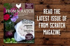 Read the August/September Issue of From Scratch magazine - From Scratch Magazine