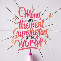 Moms are the real superheroes of the World