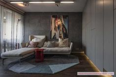 Modest Apartment Interior Design And Style: Functioning With Just 40 Square Meter (431 Square Feet) - http://www.beautifuldecoratingideas.com/interior-home-decoration/modest-apartment-interior-design-and-style-functioning-with-just-40-square-meter-431-square-feet.html