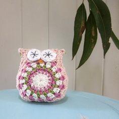 Crochet Owl softie / toy - by lolliandbean on madeit $16
