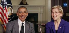 Obama and Elizabeth Warren Team Up to Defend America From The GOP Corporate Agenda