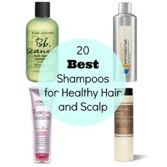 20 Best Shampoos for Healthy Hair and Scalp