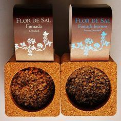 Flor de sal fumada - smoked flower of salt - wędzony kwiat soli  http://sklep.smakiportugalii.pl/pol_m_SALMARIM-172.html