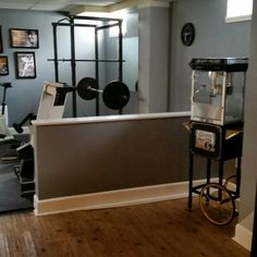 My Home Gym from the Home Theater area