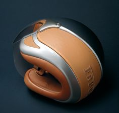 Ferrari Motorcycle Helmet by Vinaccia Integral Design » Yanko Design
