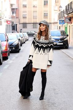 Aprés ski sweater looks - Lady Addict