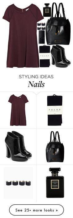 """Untitled#274"" by andreaxo77 on Polyvore featuring Maison Margiela, Vanessa Bruno, Falke, Giuseppe Zanotti, Marc by Marc Jacobs, NARS Cosmetics and Chanel"