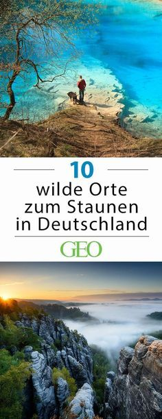 Wildes Deutschland: zehnmal Natur zum Staunen - Camping-Touren - Even if you sometimes have to search for them, the wilderness is often right on your doorstep. We present ten wild places in Germany and reveal how you can experience them Europe Destinations, Holiday Destinations, Places To Travel, Places To See, Nature Sauvage, Voyage Europe, Destination Voyage, Travel Images, Travel Pictures