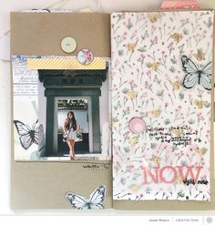 Using The Birds and the Bees in Your Traveler's Notebook with Jamie WatersTutorial: Using Marcy's Mini Album Kit with Lisa TruesdellSunday Sketch | Lisa TruesdellMember Challenge | Theresad512
